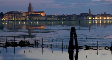 Chioggia / Laguna del Lusenzo / Alba e Chioggia sullo sfondo
